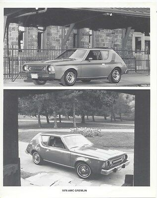 1976 AMC Gremlin Factory Photo uc2808