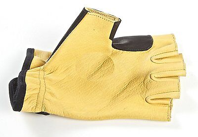 Big Archery PRO Bow Hand Shooting Glove Arrow Impact Protection Soft  Leather
