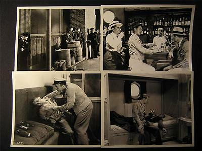 Richard Cromwell VINTAGE 4 Assorted 30s MOVIE PHOTO LOT 494D