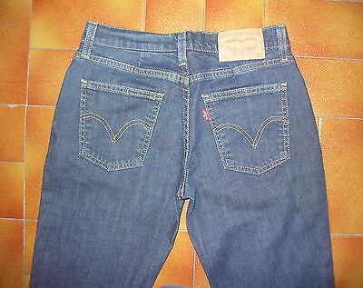 Levis 528 jeans usato Tg.43 W29 L32 Donna  straight fit