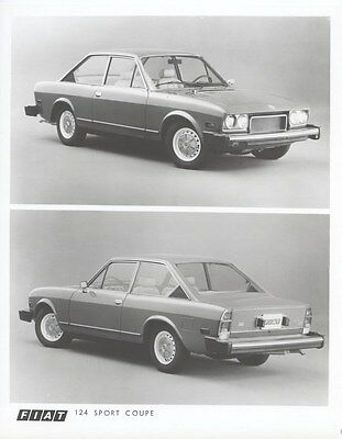 1974 Fiat 124 Sport Coupe Factory Photo uc2950