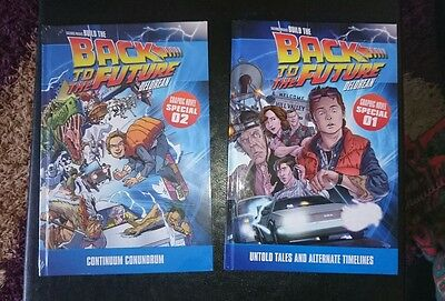 Back To The Future Graphic Novel Issue 1 And 2