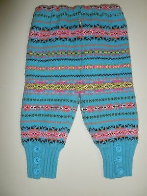 wool longies longie *NEW* diaper cover soaker pants blue/pink L
