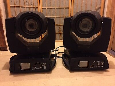 (2) 260W 3D DJ Moving Head Mobile Concert Sharpy 2 Prism Spot Mobile Light!