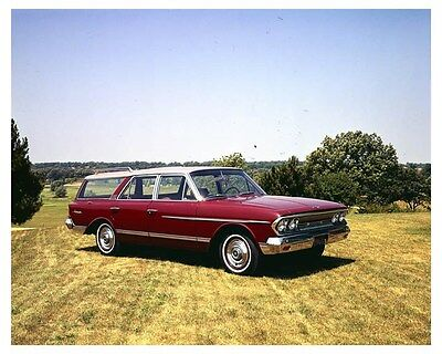 1963 Rambler Ambassador Station Wagon Factory Photo uc3096