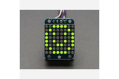 Adafruit Mini 0.8 8x8 LED Matrix w/I2C Backpack - Yellow-Green