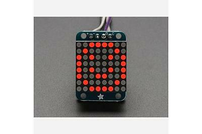 Adafruit Mini 8x8 LED Matrix w/I2C Backpack - Red