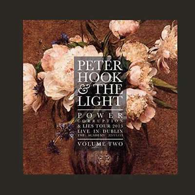 Peter Hook & The Light - Power Corruption And Lies - Live In Dublin Vol 2 NEW LP