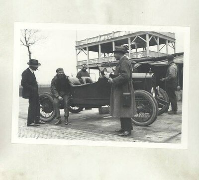 1922 Essex Dave Olson Race Car Test Run Sheepshead Bay Speedway Photo ww9374