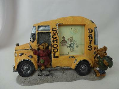 Boyd's Collection Bears & Friends - Vintage School Bus Picture Frame - #27305