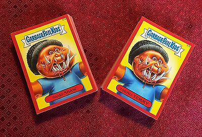 Garbage Pail Kids 2014 Series 2 Full Hobby Collectors Red Parallel Set 132 Cards
