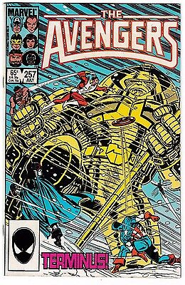 AVENGERS #257 (VF/NM) 1st NEBULA Appearance! Guardians of the Galaxy Marvel 1985