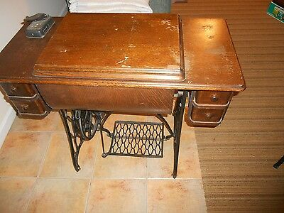Singer Sewing Machine non-working Motor  in Treadle Cabinet Local Pickup Only