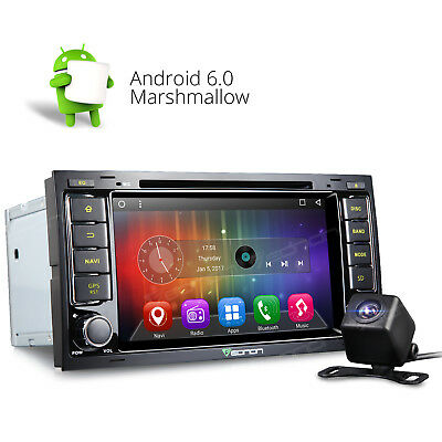 """Camera 7""""TFT Android 6.0 Car DVD Player Radio GPS Navigation F for VW Volkswagen"""