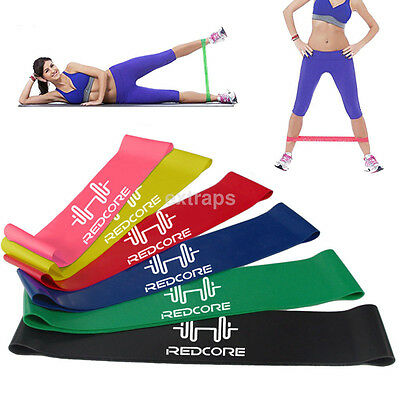 Durable Resistance Bands Yoga Fitness Training Latex Rubber Fitness Gym Strength