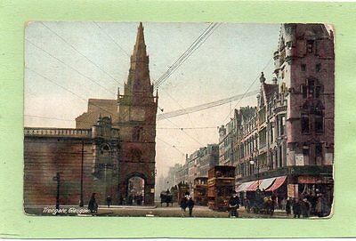 """""POSTCARD TRONGATE,GLASGOW,SCOTLAND,Dated 1912"""""