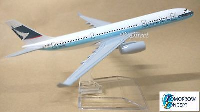 15cm 1:450 Cathay Pacific Airlines A330 Airplane Diecast Metal Plane Toy Model