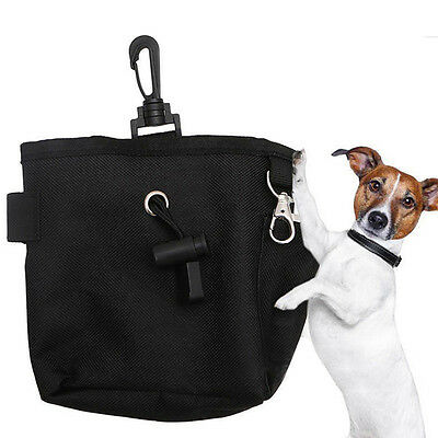 Dog Puppy Pet Snack Obedience Training Treat Bag Feed Bait Food Pouch Belt Bags