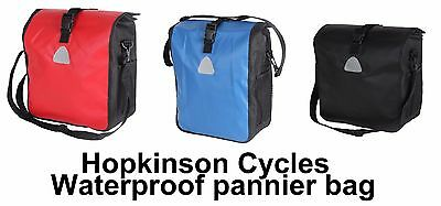 WATERPROOF Pannier Bag Shoulder man ladies bag Bike Bicycle School Work Business