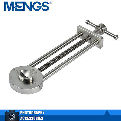 MENGS LRT-06 Stainless Steel Lens Vise Tool Adjustment 30mm To 105mm