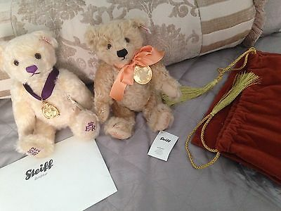 Rare Steiff Limited Edition Rare Royal Wedding Bear With Paperwork Certification