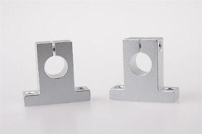 SK25 4 PCS Linear Rail Shaft Support FOR XYZ Table CNC Router Milling 25mm
