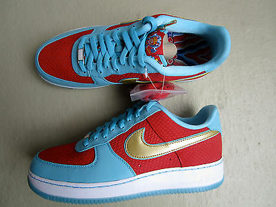 """Nike Air Force 1 Low 45 """"Year of the Dragon"""" 2012 Sport Red/Metallic Gold"""