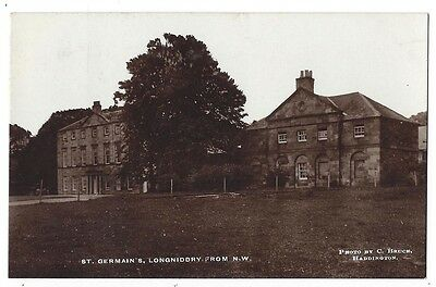 LONGNIDDRY St Germains House, RP Postcard by Bruce, Postally Used 1917
