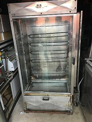 OLD HICKORY ROTISSERIE MERCHANDISER OVEN, BBQ Matic Barbecue