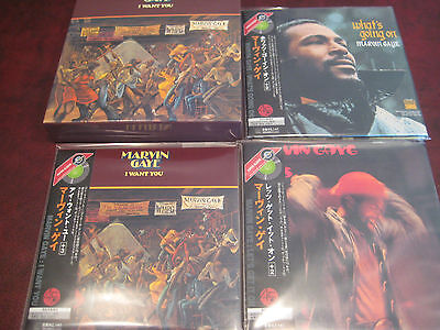 Marvin Gaye I Want U What's Going On Japan Replica Obi 3 Cd Set  One Time Price