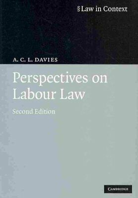 Perspectives on Labour Law by A.C.L. Davies 9780521722346 (Paperback, 2009)