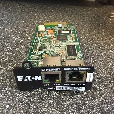 Eaton Ups Network Management Card - 710-00255-01P