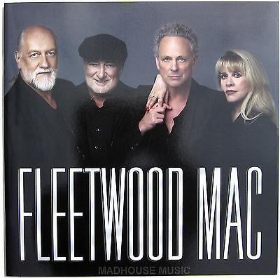 "FLEETWOOD MAC 2013 Tour PROGRAMME 24 Page Glossy NEW 12"" x 12"" size"