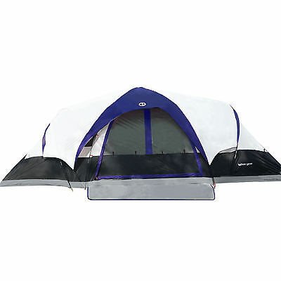 Tahoe Gear Manitoba 14-Person Family Outdoor C&ing Tent w/ Rainfly Blue/  sc 1 st  PicClick & CANADIAN MILITARY 4-MAN / 2-Man RECCE Tent Surplus Camping - $186.97 ...