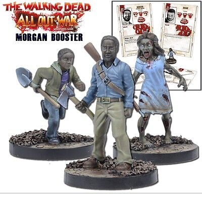 Mantic Games The Walking Dead All Out War Miniatures Game Morgan Booster Pack