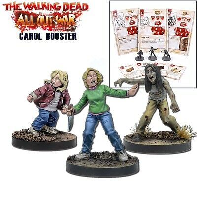 Mantic Games The Walking Dead All Out War Miniatures Game Carol Booster Pack