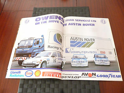 Autosport May 17 1984 Centrespread:owens Road Services Ltd On Move Austin Rover