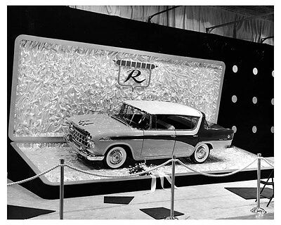 1956 Rambler Custom Factory Photo Chicago Auto Show uc3287
