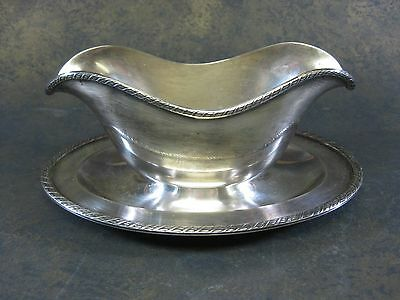 Vintage EPNS Melford Silverplate Gravy Boat #M500