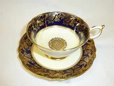 Vintage PARAGON HM the Queen & Queen Mary Fine Bone China Cup & Saucer England