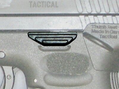 Extended Slide Release Slide Stop Lever for Springfield XD XDM 9mm 40S&W   #1770
