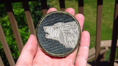 Original WWII US Army 104th Infantry Division Patch SSI Gemsco Ribbed Weave