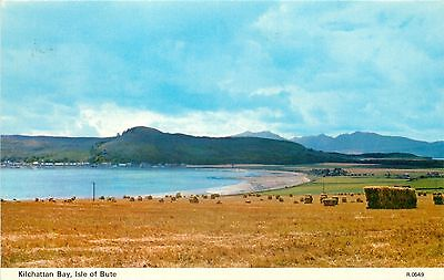 p0861 Kilchattan Bay, Isle of Bute, Scotland postcard