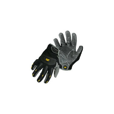 CAT CAT012218L High Impact Synthetic Palm with Silicone Grip Gloves Large 012...