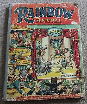 RAINBOW Book ANNUAL 1947 (Comic) RARE & Good Condition VINTAGE