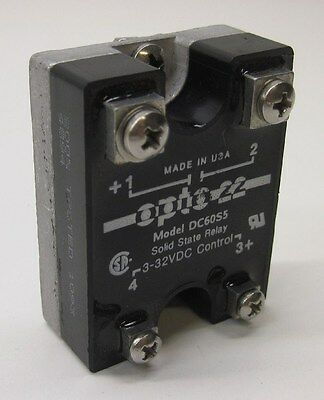 Opto 22 60DCS5 Solid State Relay (SSR), 60 VDC, 5 Amp, DC Control