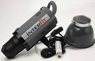 Interfit Photography Stellar XD 300 Watt Second Flash Monolight,refl #358956