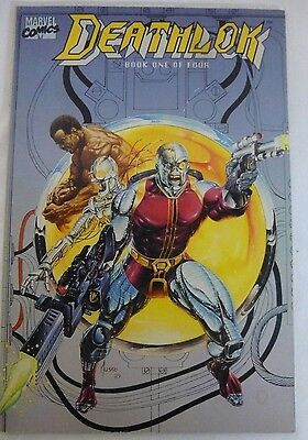 Marvel Comics Deathlok Vol. 1 Book #1 of 4(1990) MINT MT NM 9.8+++ WHITE PAGES