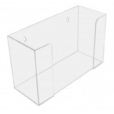 Acrylic Paper Towel Holder Display Clear Multi-fold or C-Fold Towels Bath Office