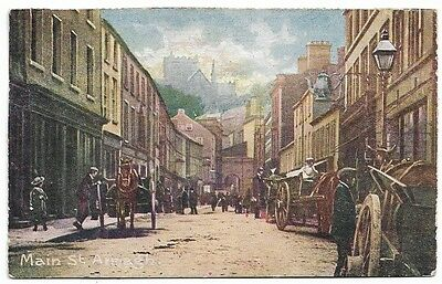 [3478] Armagh Colored Postcard Main St Armagh
